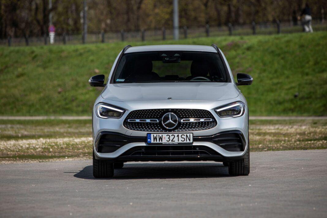 Mercedes GLA - przód