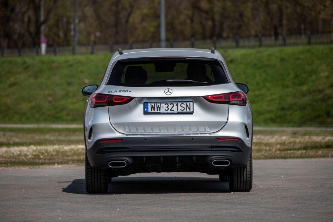 Mercedes GLA - tył
