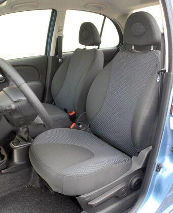 NISSAN Micra K12 fotel kierowcy