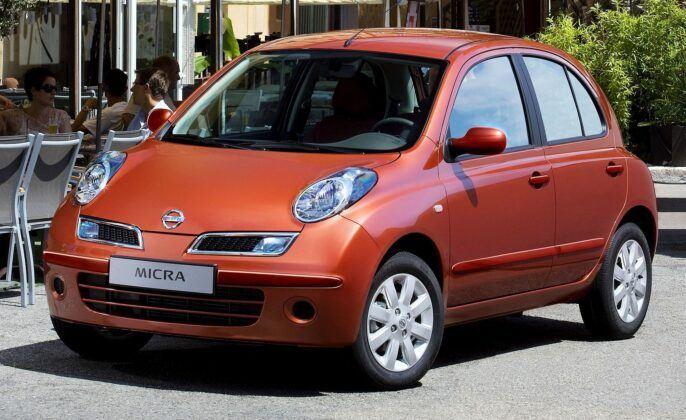 Nissan Micra III (K12) po drugim liftingu (2007-2010)