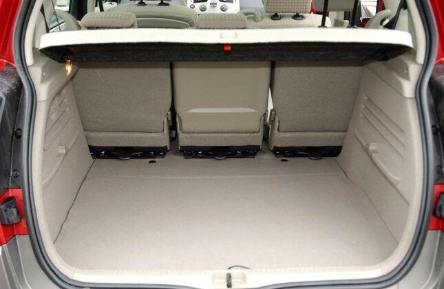 Renault Scenic II bagażnik