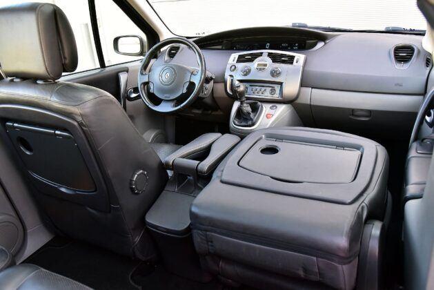 Renault Scenic II fotel pasażera