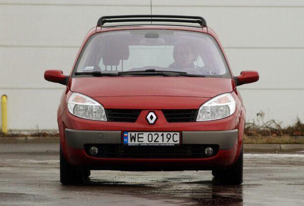 Renault Scenic II przed liftingiem