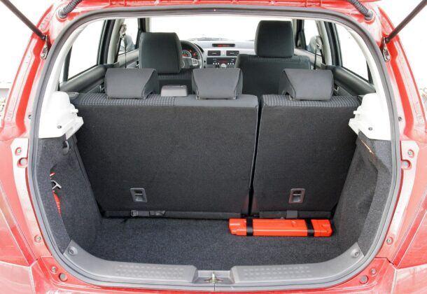 Suzuki Swift IV bagażnik