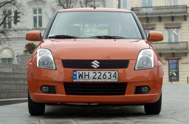 Suzuki Swift IV przed liftingiem