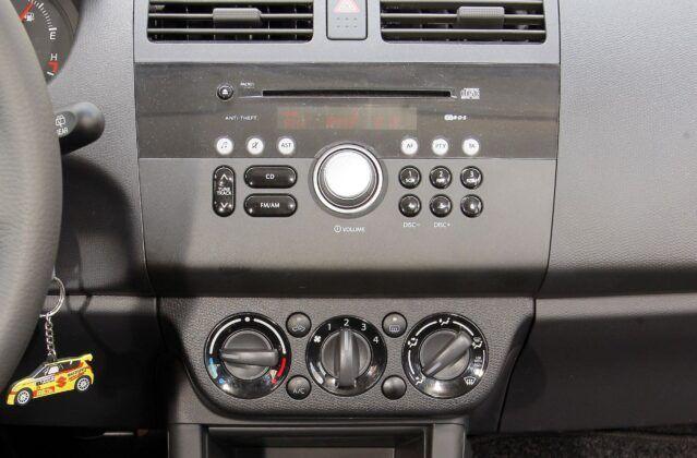 Suzuki Swift IV radio