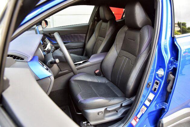 Toyota C-HR fotel kierowcy (2)