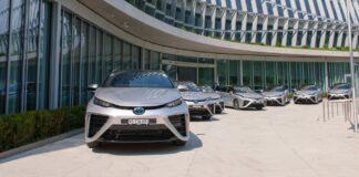 Toyota Mirai Tokio 2021