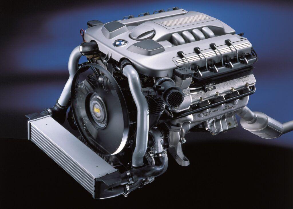 Używany diesel BMW V8