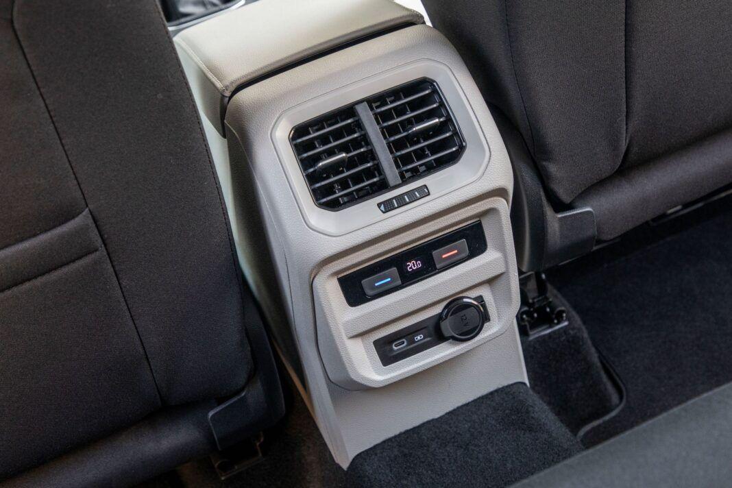 VW Tiguan - 3-strefowa klimatyzacja