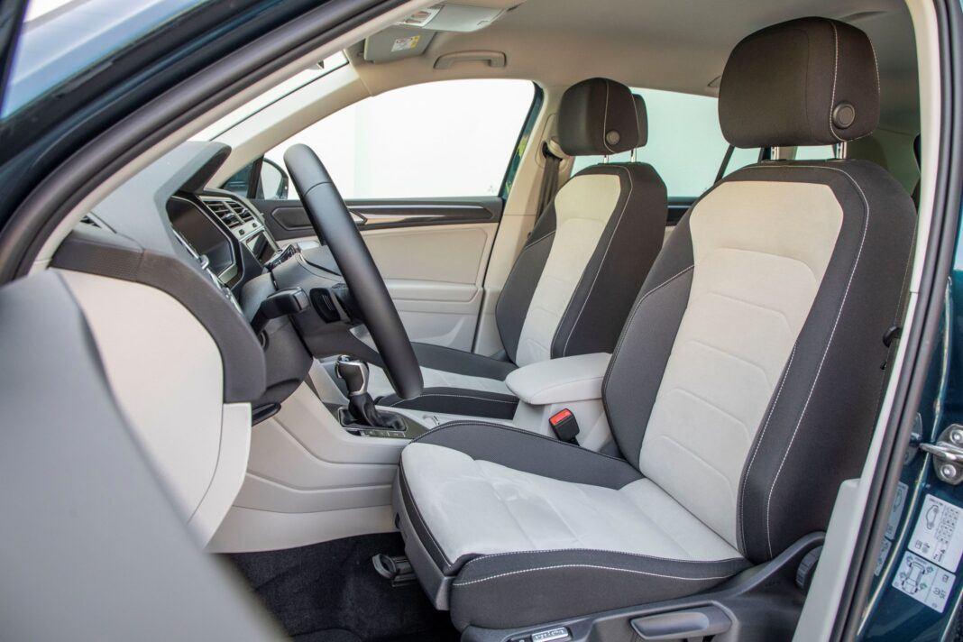 VW Tiguan - fotele