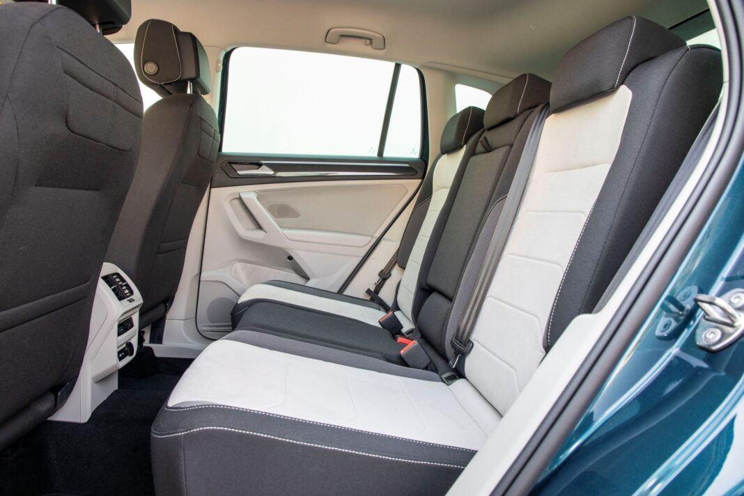 VW Tiguan - kanapa
