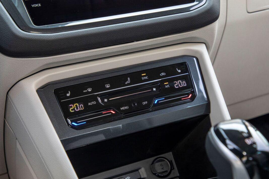 VW Tiguan - klimatyzacja
