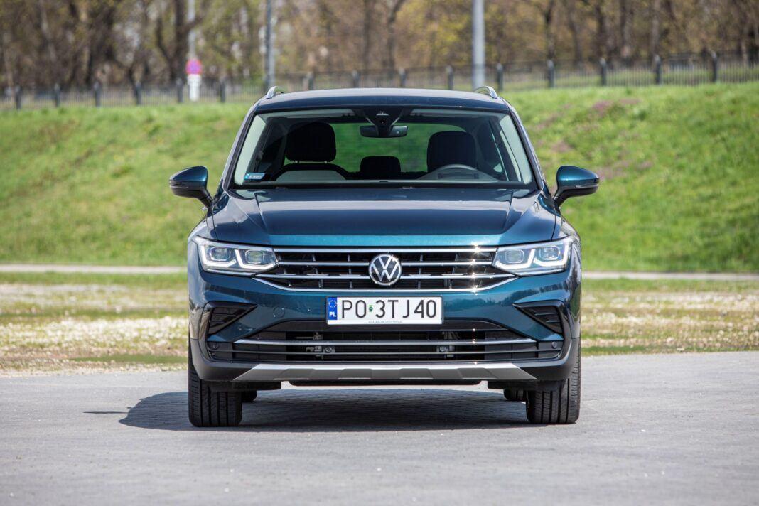 VW Tiguan - przód
