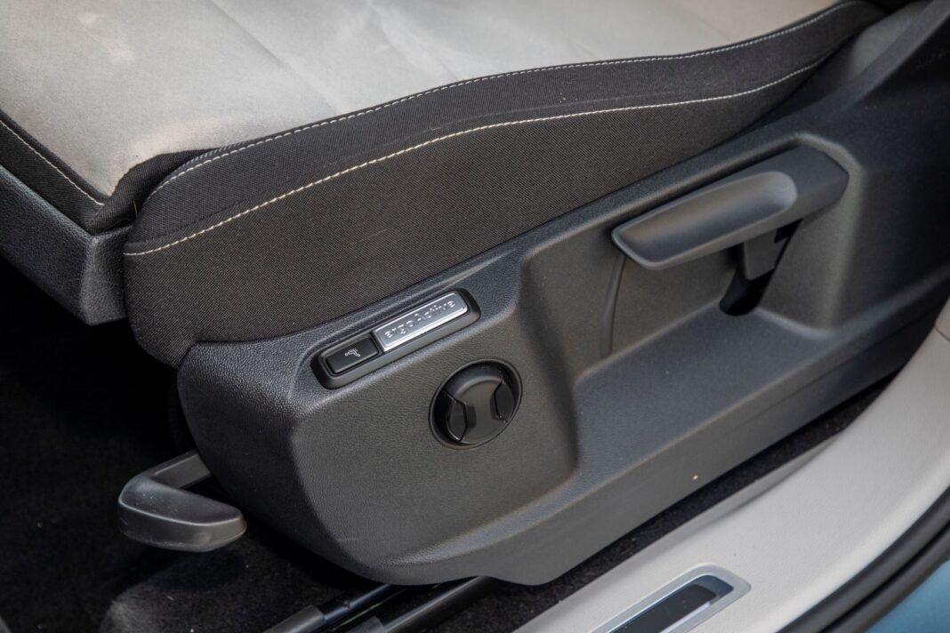 VW Tiguan - regulacja fotela