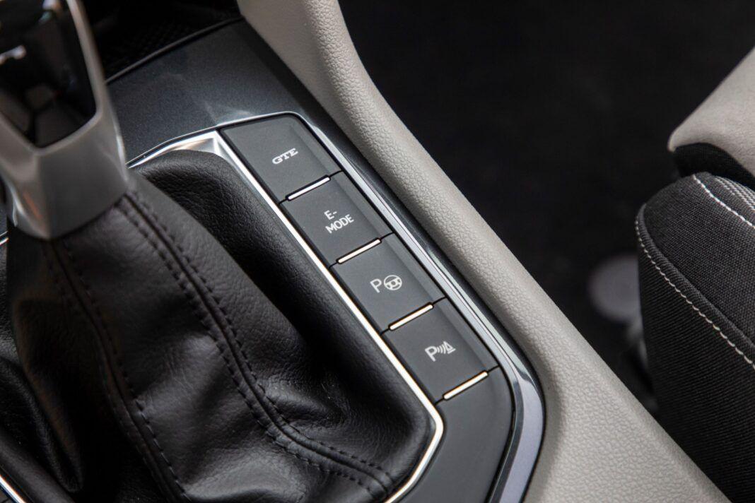 VW Tiguan - tryby jazdy