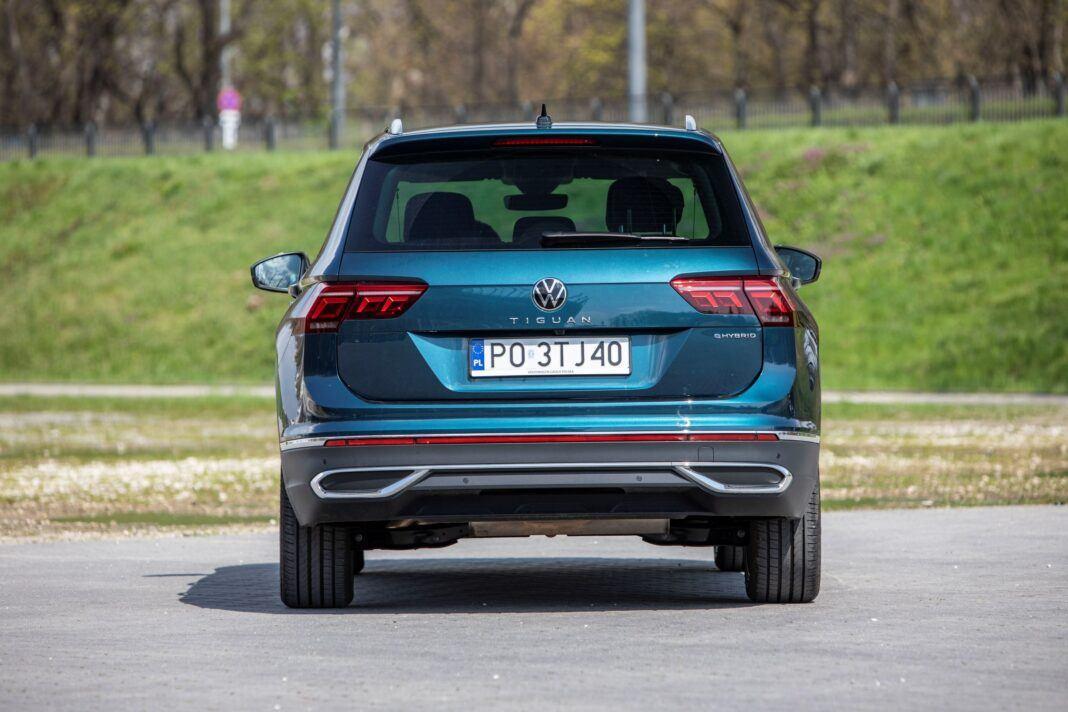 VW Tiguan - tył