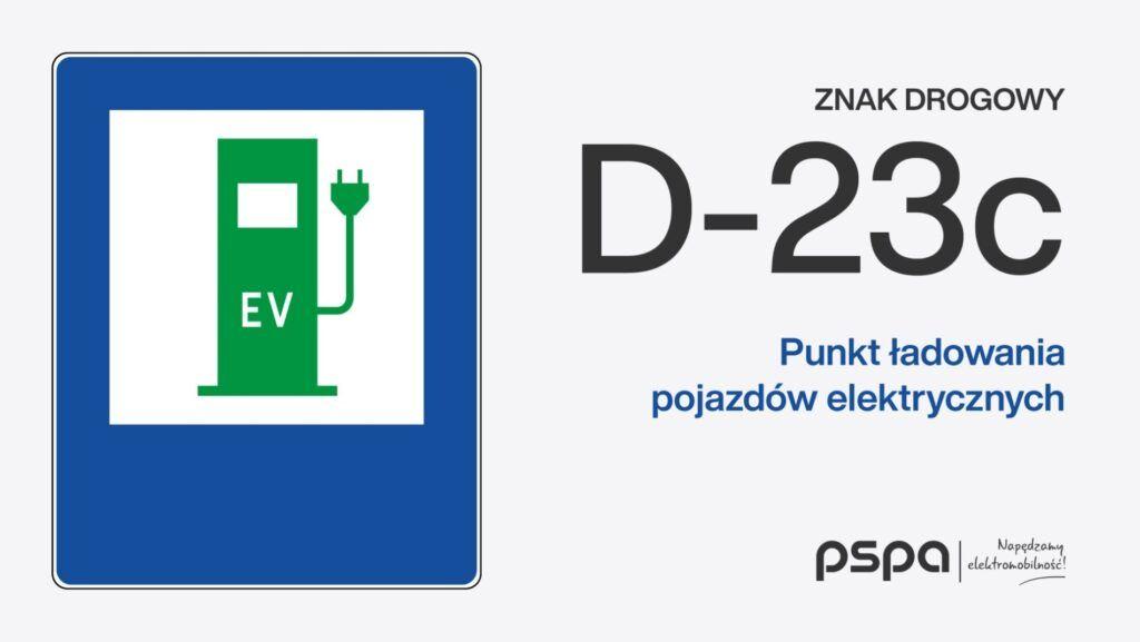 Znaki dla samochodow elektrycznych