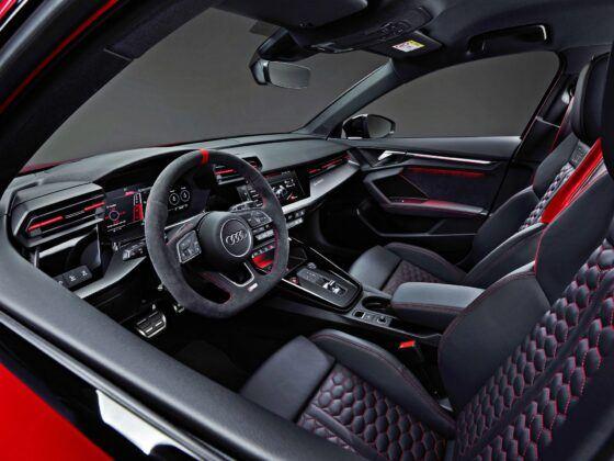 Audi RS 3 Sportback - fotele przednie