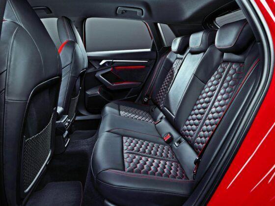 Audi RS 3 Sportback - tylna kanapa
