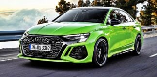 Audi RS 3 Limousine - przód