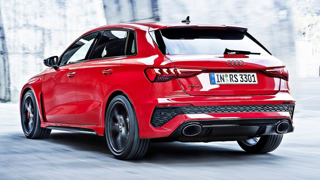 Audi RS 3 Sportback - tył