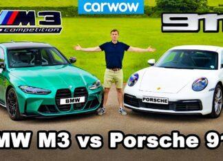 BMW M3 Competition kontra Porsche 911 Carrera – porównanie