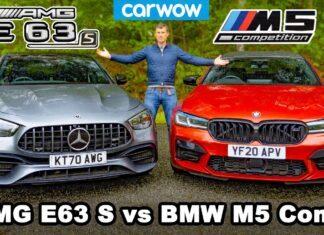 BMW M5 Competition kontra Mercedes-AMG E 63 S – porównanie