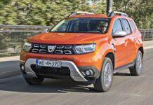 Dacia Duster FL - przód