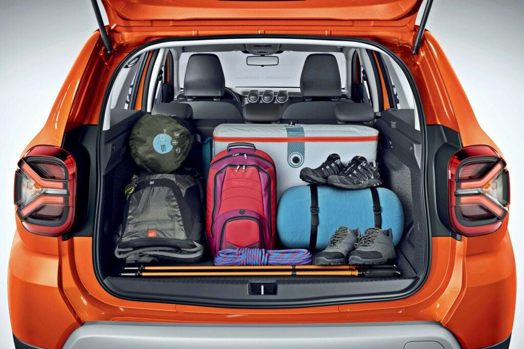 Dacia Duster FL - Portbagaj