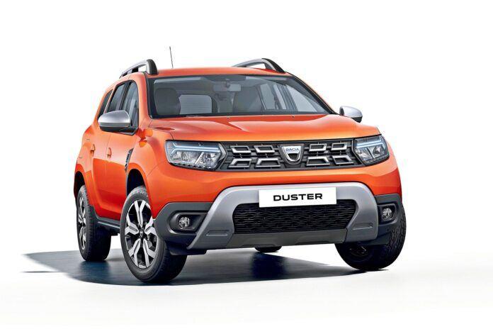 Dacia Duster FL - Față