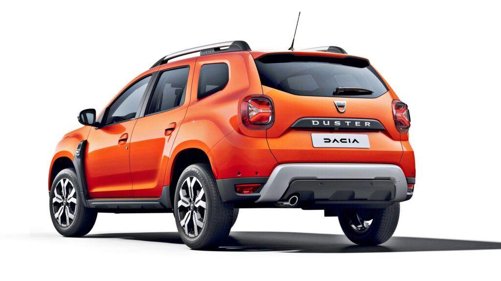 Dacia Duster FL - Spate