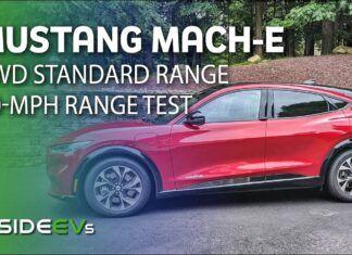 Ford Mustang Mach-E – test zużycia prądu w trasie