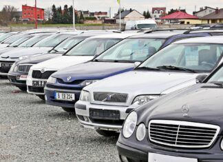 Import aut używanych w czerwcu. Średnia wieku przekracza 12 lat