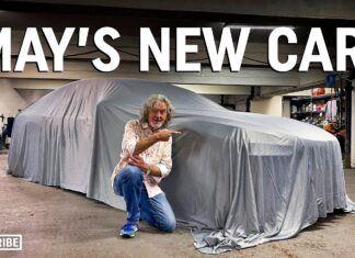 James May kupił nowe auto. Jego wybór może zaskoczyć!
