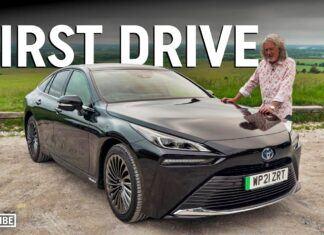 James May testuje Toyotę Mirai. To jego nowe auto
