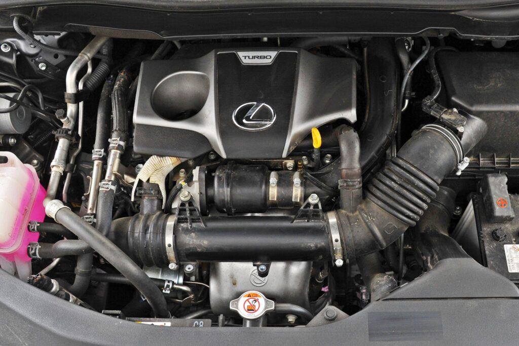 Lexus RX - silnik