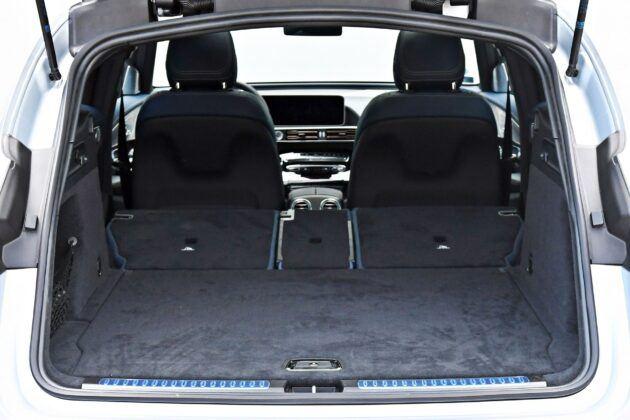 Mercedes EQC - bagażnik