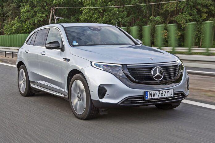 Mercedes EQC - przód