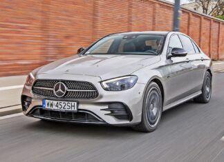 Mercedes klasy E (2021). Opis wersji i cennik