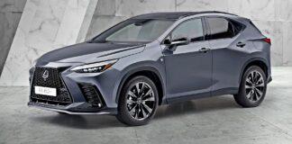 Nowy Lexus NX - przód
