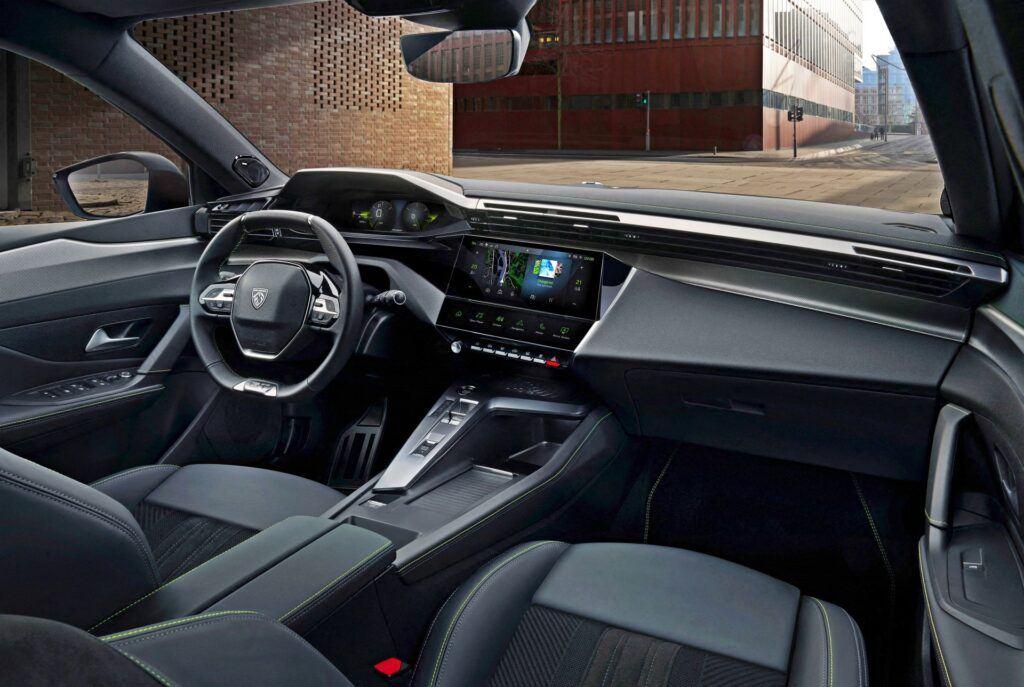 Nowy Peugeot 308 - wnętrze