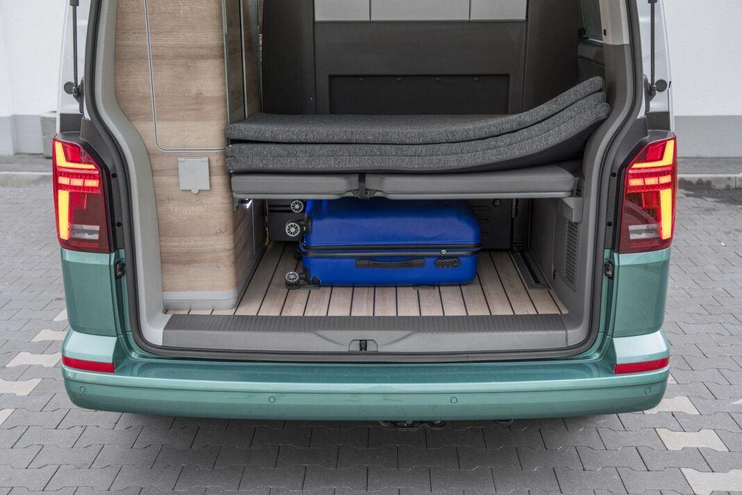 VW California Ocean - bagażnik