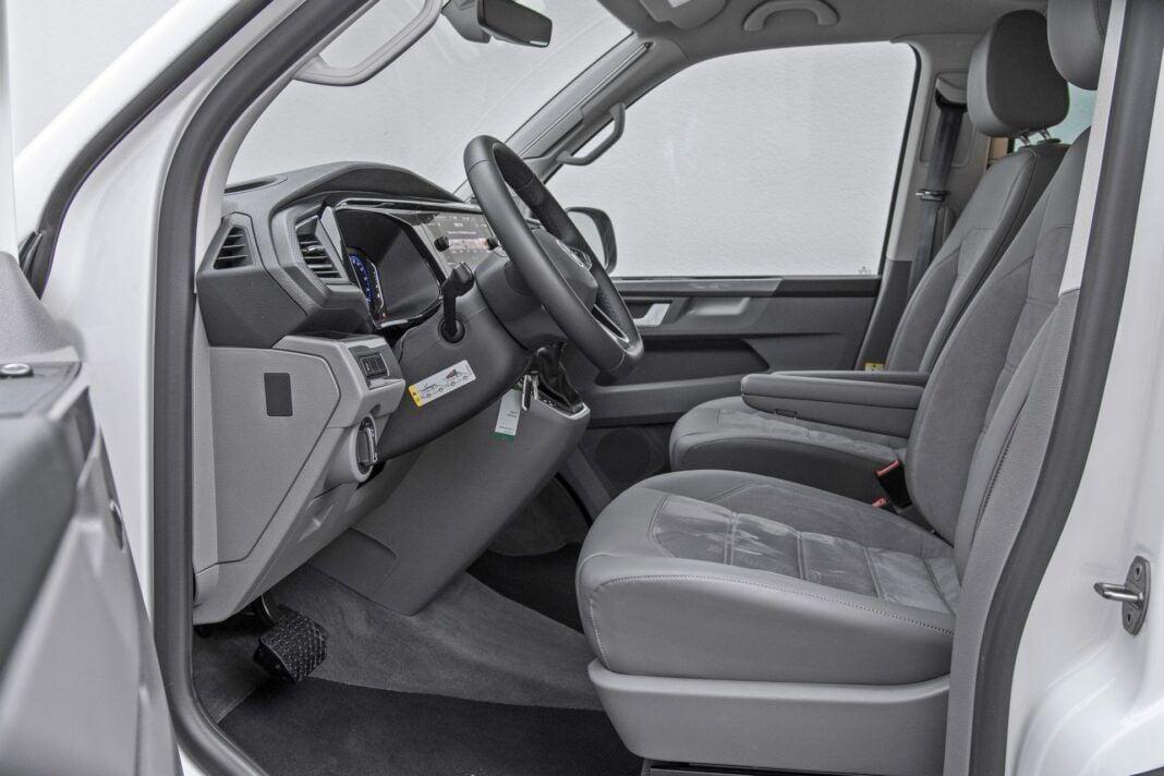 VW California Ocean - fotele przednie