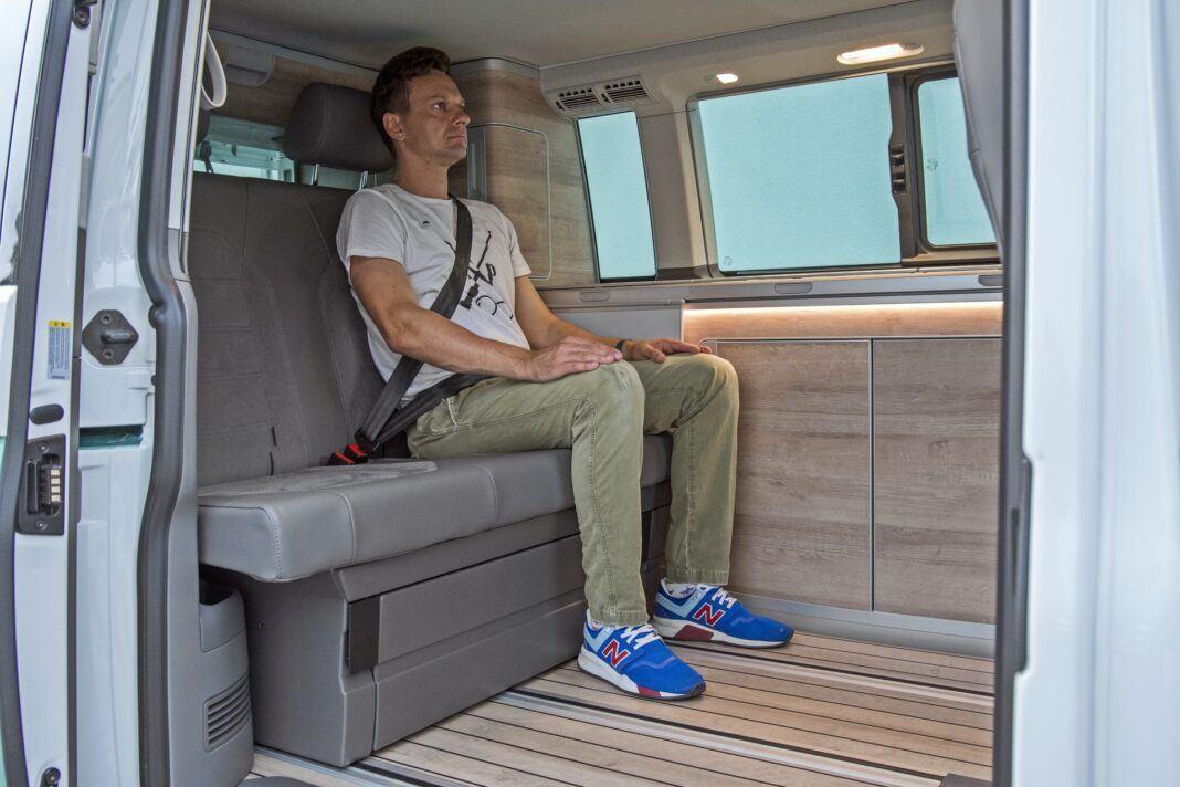 VW California Ocean - tylna kanapa
