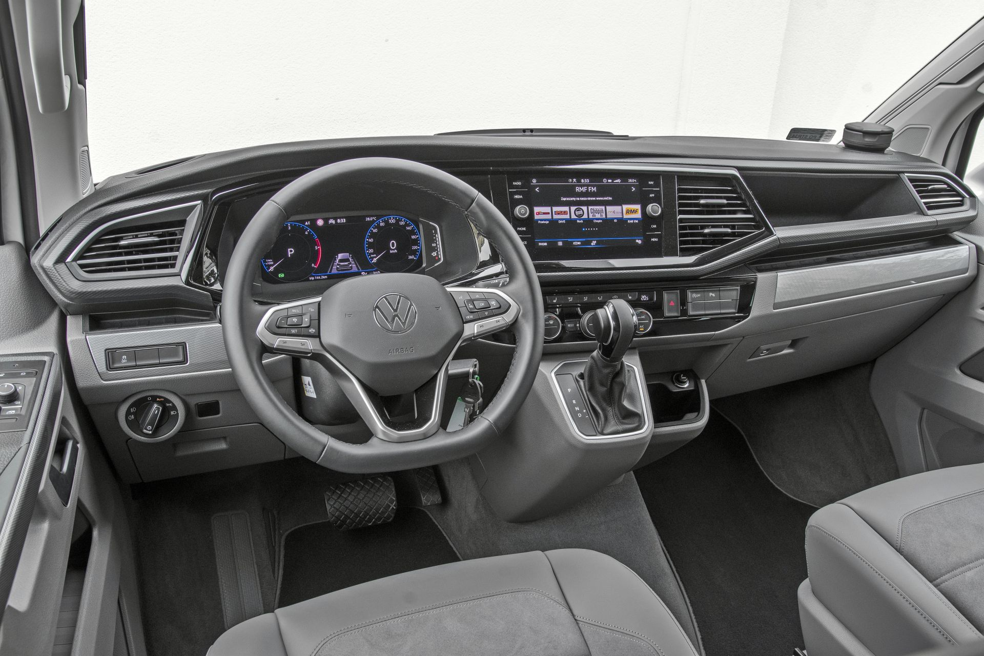 VW California Ocean - deska rozdzielcza