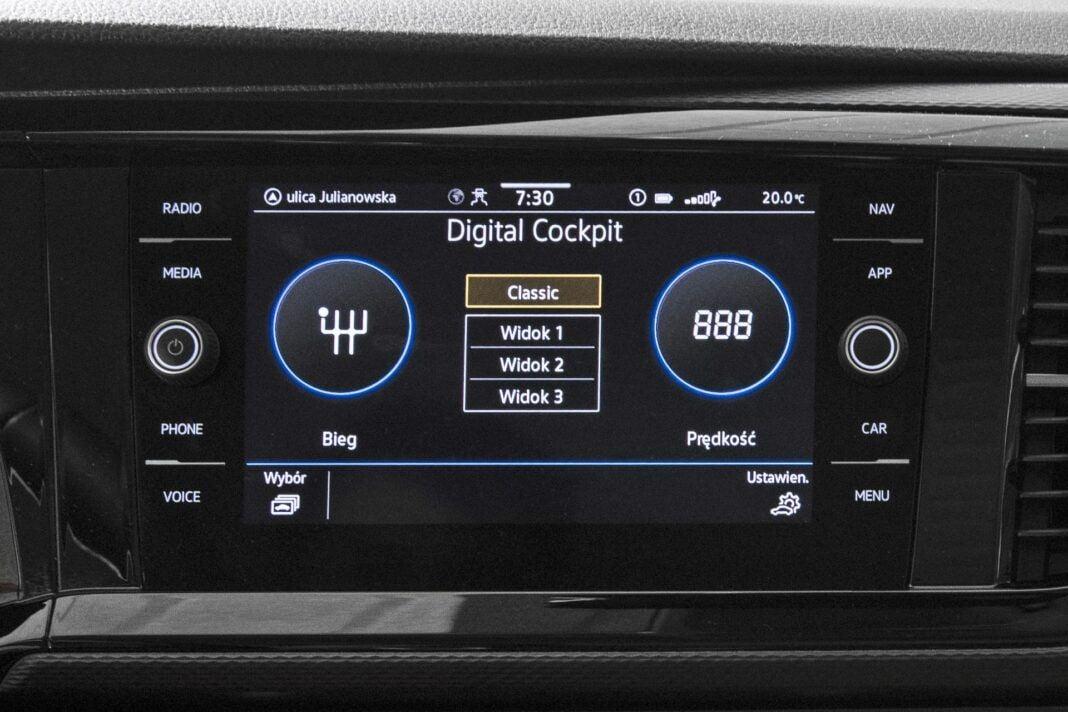 VW California Ocean - system multimedialny