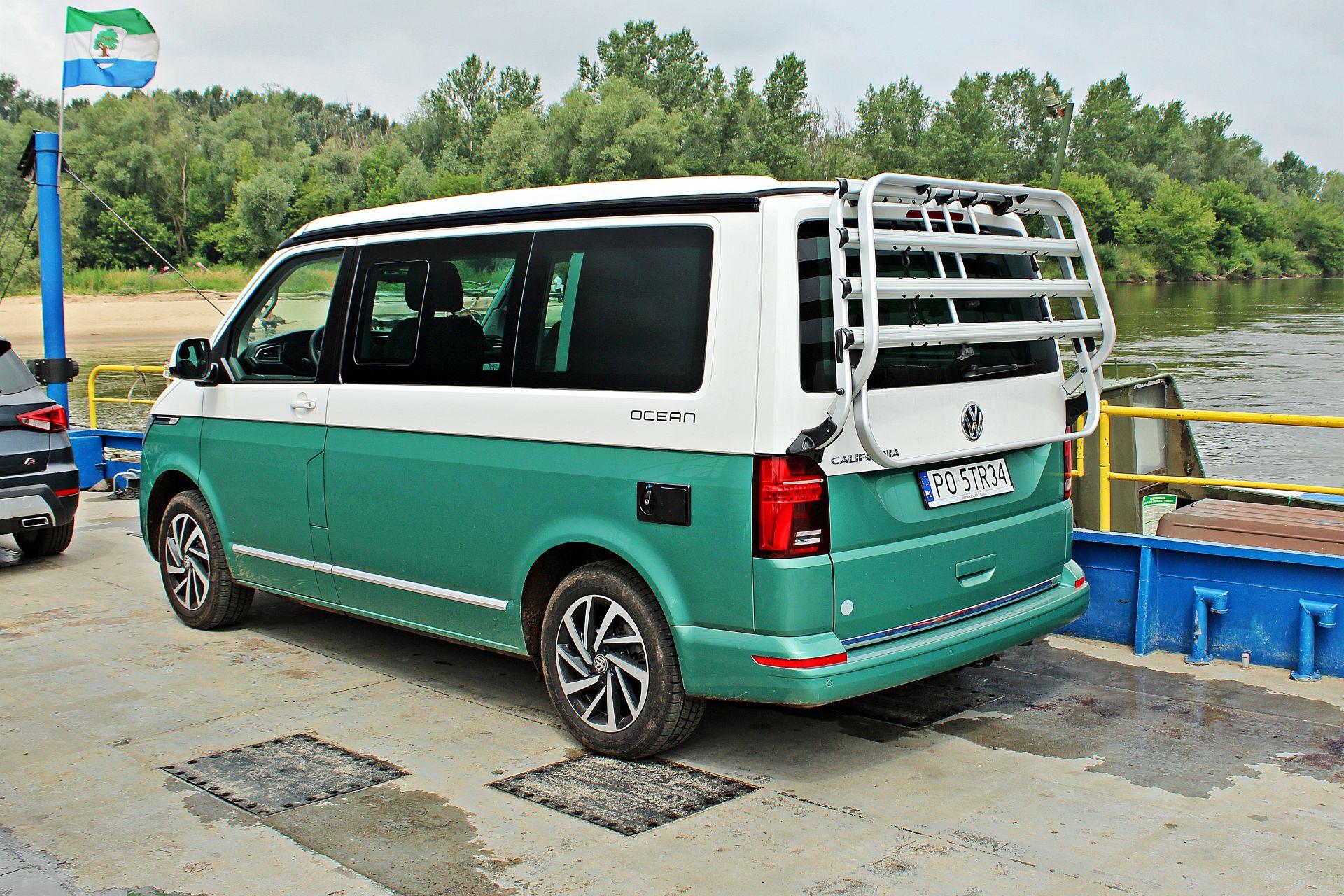 VW California Ocean - tył