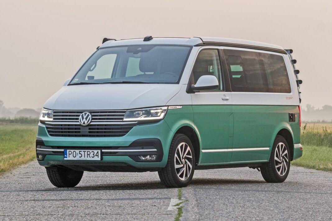 VW California Ocean - przód