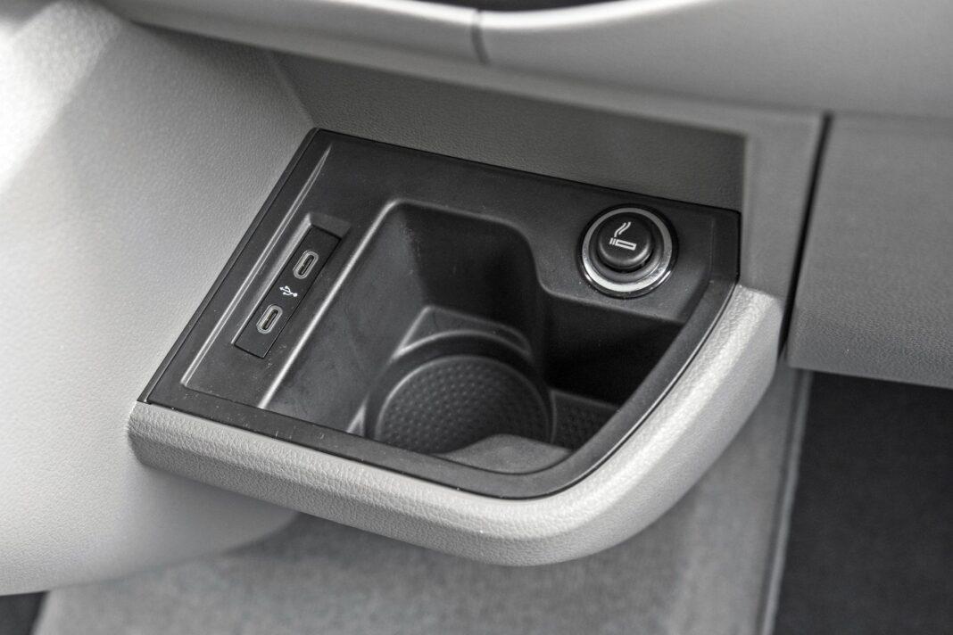VW California Ocean - gniazda USB
